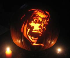 Creepshow Carved Pumpkin by Mister-JP