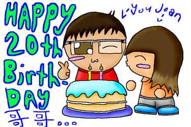 Happy Birthday Bro by AOEW