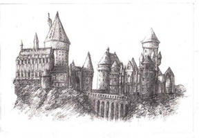 Hogwarts by grenia