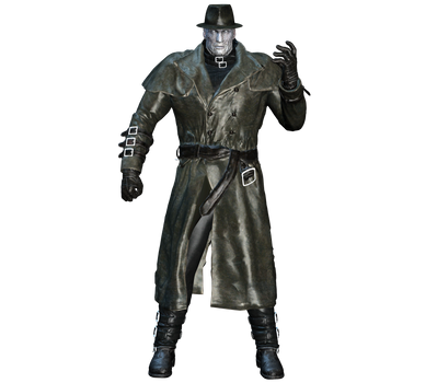 Resident Evil 2 Remake Mr X Render By Tyrant0400tp On Deviantart