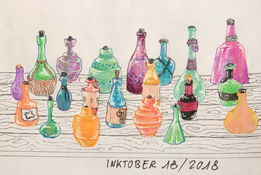 Inktober 2018 - 18 by zokwani