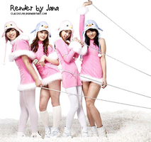 2NE1 XMAS [Render] by classicluv