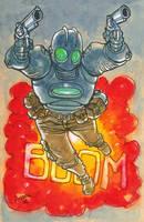 Atomic Robo by astrobrain