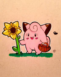 Flower Picking by Peach-n-Creme
