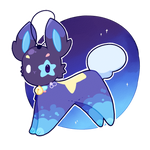 star bunny - fuurineko auction [CLOSED] by Peach-n-Creme