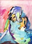 nude color sketch by schachay