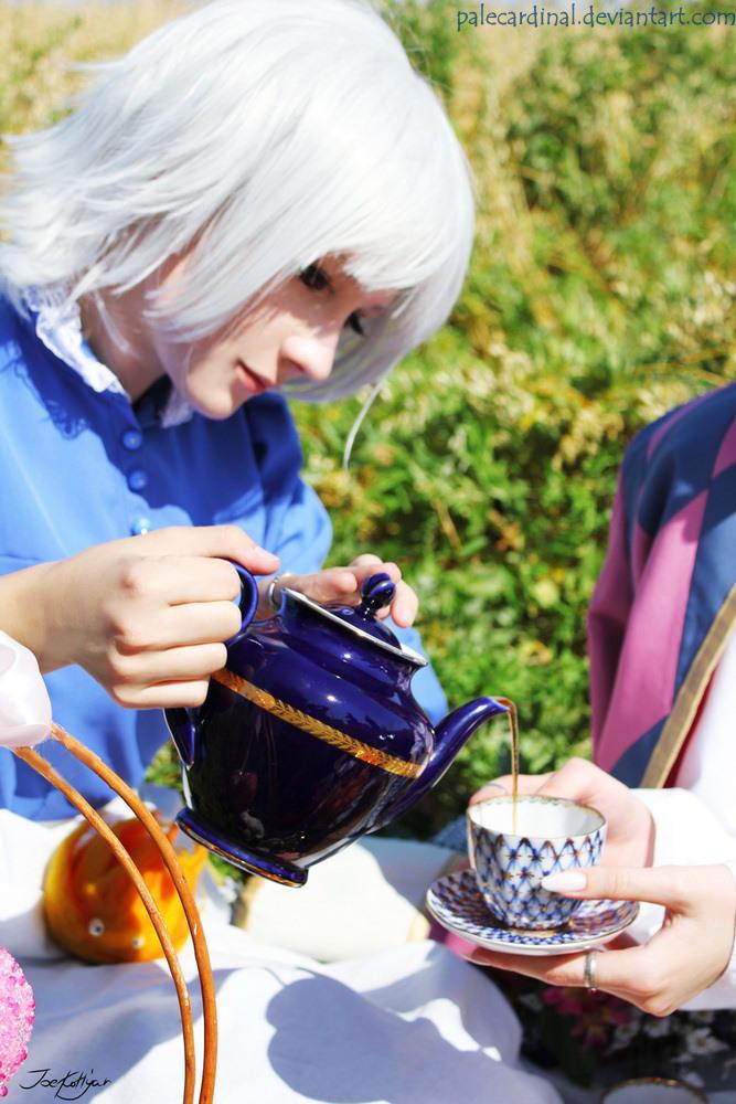 Little tea? ) by palecardinal