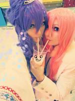 Gaku + Luka Strawberry by palecardinal