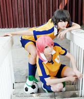 Inazuma 11 Go: Kirino + Shindou by palecardinal