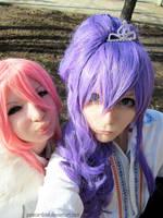 Sweet pair: Gaku + Luka by palecardinal