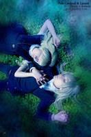 Draco + Astoria Malfoy by palecardinal