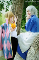 Howl + Sophie: DO You love me? by palecardinal