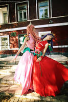 Utena: I'll protect You, Anthy! by palecardinal