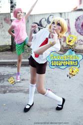Sponge Bob + Patrick Star: Dumb and Dumber XD by palecardinal