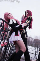Utena + Touga: dance with me by palecardinal
