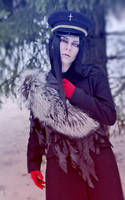 Red Hood Wicked wolf cosplay by palecardinal