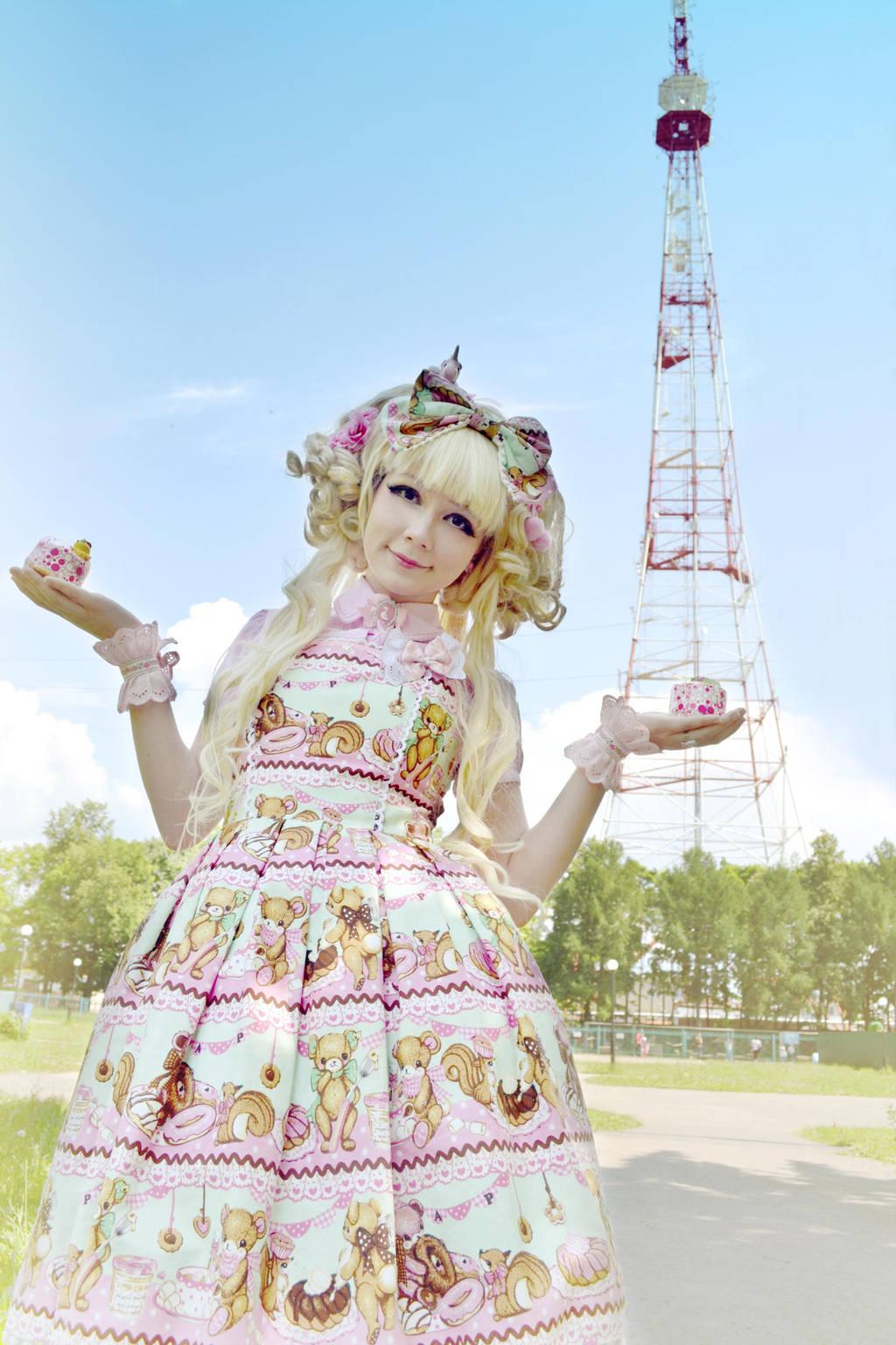 Tea Time Lolita by palecardinal