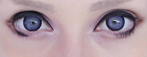 My lavender eyes by palecardinal
