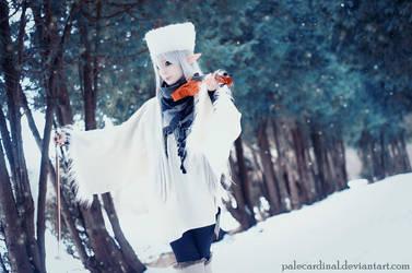 Fairytale Violin Elf by palecardinal