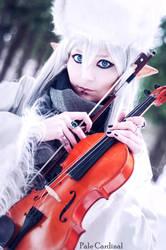 Visual kei Minstrel Elf by palecardinal