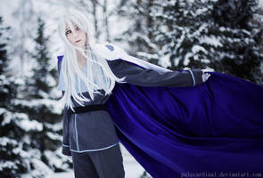 Sailor Moon Kunzite cosplay by palecardinal