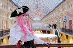 Pirate Barbie by palecardinal