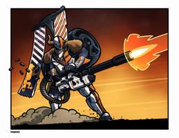Heavy Ammo Inbound by IanPesty