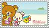 Rilakkuma Stamp- Hawaii by YellowKiiroitori