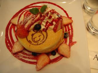 Strawberry Pancake (Artnia cafe) by Fuyuko7