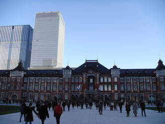 Tokyo Station by Fuyuko7