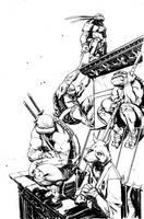 TMNT cover 3 by dan-duncan