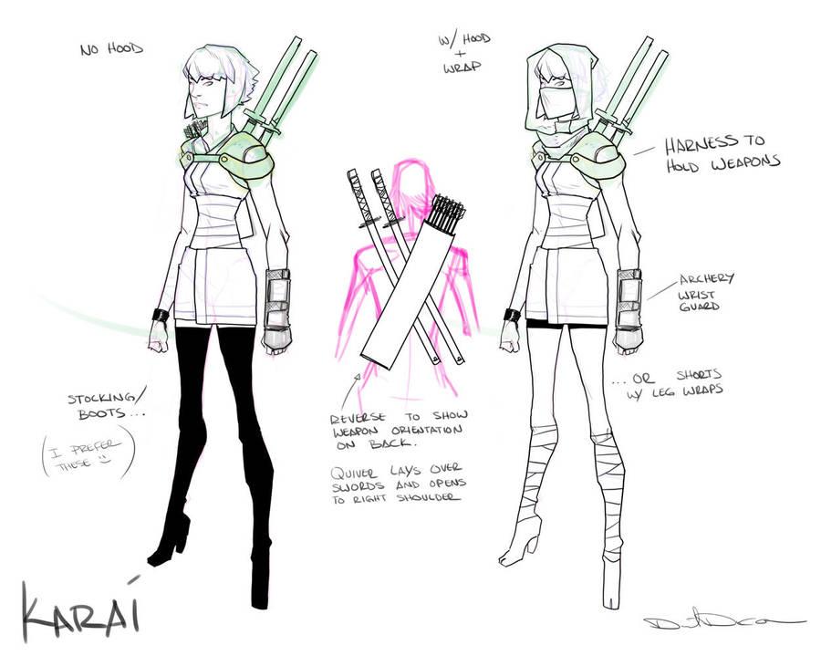 Karai design by dan-duncan