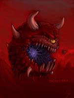 Cacodemon by metalpiss