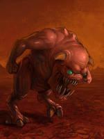 Pinky demon by metalpiss