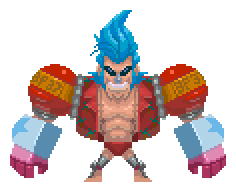 pixel Battle Franky 37 by Zonrox