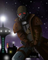 Fallout New Vegas NCR Ranger by Ash3ray