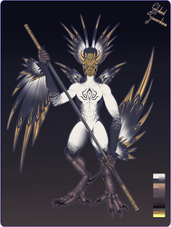 Haroth guest adopt: Gilded Guardian (OPEN!) by ShemeiArt