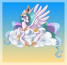 Princess Celestia :: A Sweet Day by AnthoCat