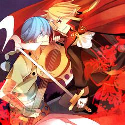 DA F: Rivalry by Jeneko