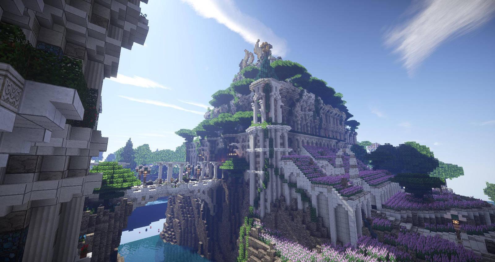 MC Forgotten Realms - Doru Yllium Temple by TheRisen13