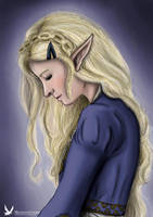 -Zelda Portray ~ Princess of Light- by MidnightsCharm