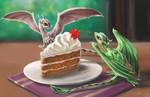 Dessert by Egretink