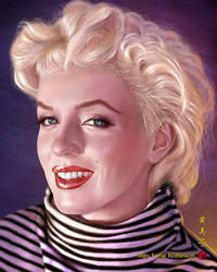 Marilyn Monroe Radiance by MayFong