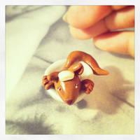 Tiny fox by Merlyn-Wooden