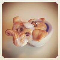Tiny Elephant by Merlyn-Wooden