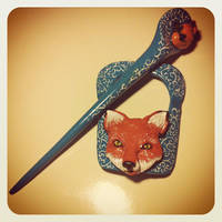 The Fox by Merlyn-Wooden