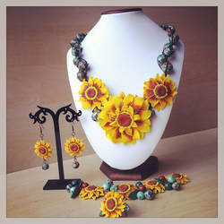 Sunflower Set by Merlyn-Wooden