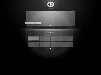 My portfolio design by DDrAgO