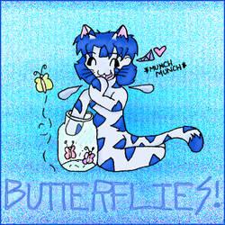 BUTTERFLIES by kinkkayjay
