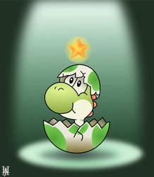 Baby Yoshi: Star Child by Dermuda